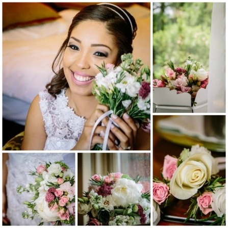 New Life Florist - Bride Collage